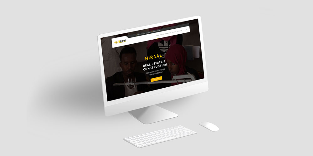Hiraal Construction Website